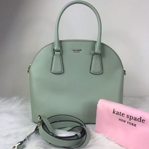KATE SPADE SYLVIA LARGE SATCHEL/CROSSBODY BAG